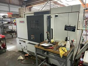 Mori Seiki Nl2500sy 700 Cnc Lathe 2005 Sub Spindle Y Axis Live Tooling Bar