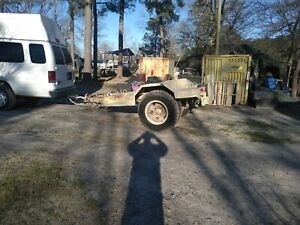 Military Trailer M200 A1 For Generator Farm Equiptment Job Construction Site
