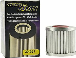 Royal Purple 20 967 Extended Life Premium Oil Filter For Toyota lexus
