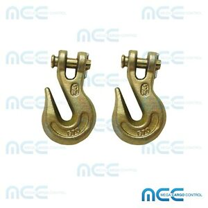 2 5 16 G70 Clevis Grab Hook Trailer Flatbed Truck Transport Tow Chain Hook