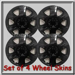 15 Black Toyota Corolla Hubcaps 2006 2007 Replica Wheel Covers Set Of 4