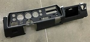 1971 72 Chevelle Ss Restored Dash Housing Original Oem Rare Nice