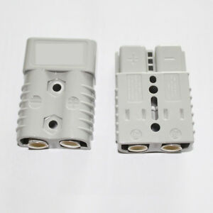 175a Battery Quick Connect Disconnect Plug Winch Terminal Connector 600v 1awg
