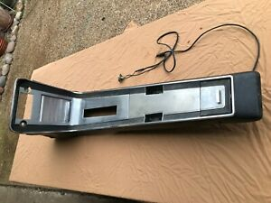 1967 1968 Mustang Console Nice Shape Intact Radio Mounting Automatic