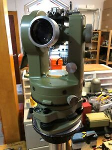 Theodolite Leica Wild T1 Used And Good Heerbrugg Swiss Surveyor