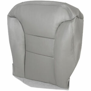 For 1995 1999 Chevy Suburban Tahoe Vinyl Driver Bottom Seat Cover Gray
