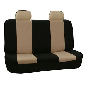 Car Seat Covers Flat Cloth Rear Set Universal Fit For Auto Truck Suv