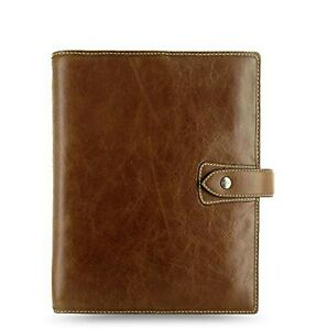 Filofax Malden Leather Organizer Agenda Planner Ring Binder 2020 Calendar Wit