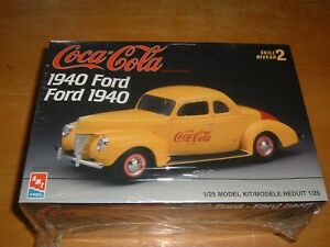 1997 AMT/ERTL Model COCA-COLA 1940 FORD Kit #H-823