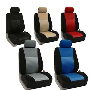 Car Seat Covers Trendy Elegance 3d Air Mesh Front Universal Fit Auto Truck Suv