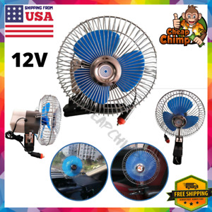Fan With Clip For Car Portable Mini 12 V Volt Electric Cooling Suv Truck Auto Rv