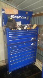 Snap On Tool Box Chest On Wheels 40 Inch Wide Pick Up Only Tools Not Included