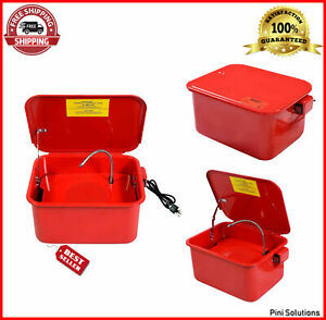 Electric Parts Tank Washer Solvent Pump Shelf High Quality Oem 3 5 Gallon Diyer