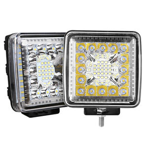4 4inch 800w Cree Led Work Lights Pod Spot Flood Combo Offroad Driving Light Us