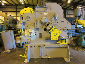 Buffalo Mechanical Ironworker No 2 110 Tons Tooling