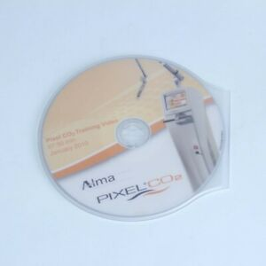 Alma Pixel Co2 Laser Acne Wrinkle Pigment Training Video Dvd 2010 cdco28120901