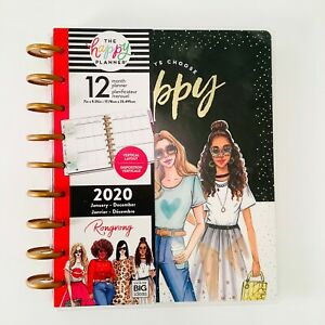 2020 The Happy Planner Rongrong always Choose Happy Classic Planner 12 Months