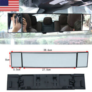 Mirror Vision Panoramic Rear View 15 Inches Wide Angle Convex Car Truck Suv