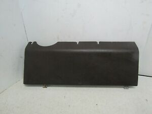 Porsche 924 944 Lower Passenger Side Kick Plate Dash Panel Ac A C Cover Brown