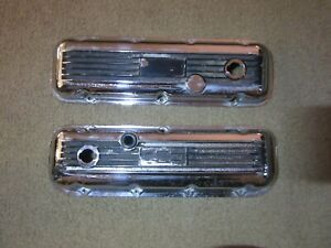 Big Block Chevy Ansen Baldwin 6 Finned Valve Covers