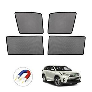For Toyota Highlander 2015 2018 2019 Car Window Sun Shades Side Sun Visor