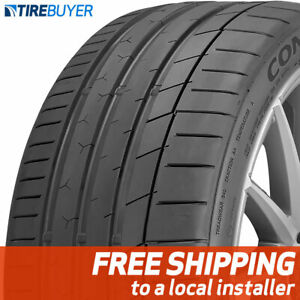 1 New 255 40zr18xl 99y Continental Extremecontact Sport 255 40 18 Tire