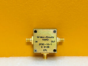 Mini circuits Zfdc 10 1 1 To 500 Mhz Sma f Coaxial Directional Coupler Tested