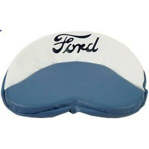 Tractor Seat Cushion Fits Ford Tractors blue White