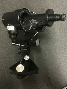 Bausch Lomb Keratometer cat no 71 21 35 M d U s a turns On Gre 120 Vo