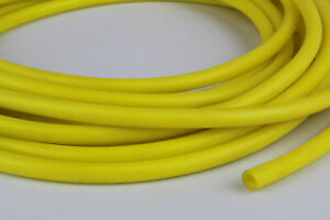 50 Feet 1 8 Id X 3 32 X 5 16 Od Latex Surgical Rubber Tubing Amber Heavy Wall