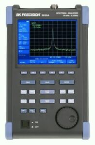 Bk Precision 2650a Handheld Spectrum Analyzers 3 3 Ghz Color Display