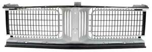 1969 Dodge Charger Center Grill Silver