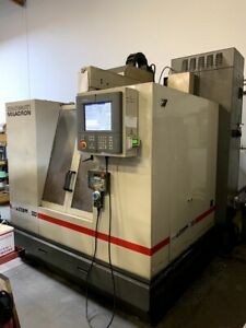 2001 Cincinnati Arrow 500 Cnc Vmc Milling Machine 10k Rpm 4th Axis Ready Cat40