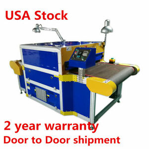 Us Stock 7 2ft X 31 5 Belt Conveyor Tunnel Dryer For Direct To Garment Printer