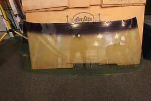 Nos 1969 Mustang Shelby Convertible Carlite Windshield Dated 9b Tinted