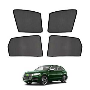 Car Window Sun Shades Side Sun Visor Uv Protection For Audi Q5 2018 2019