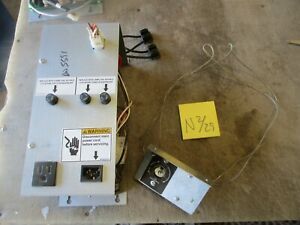 Used Power Supply W Thermostat Set For Dixie narco Dn 5591 Soda Machine