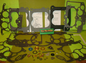 Carter Thermoquad 4 Bbl Carburetor Rebuild Kit 72 77 Many Factory Applications