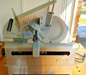 Globe Heavy Duty Food Slicer Model 3850 12 Automatic Manual