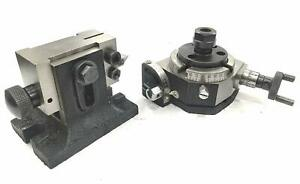 3 tilting Table tailstock with Er16 Collet Adaptor