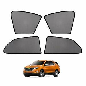 4pcs Car Window Sun Shades Side Sun Visors For Chevrolet Equinox 2018 2019 2020