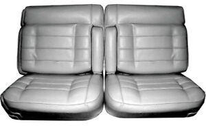 1975 1976 Cadillac Eldorado Front Split Bench Seat Cover Armrest 3 Colors Avail