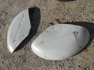 Ford 8n Tractor Nice Early Original Ford Fenders Pair Set W Bolts