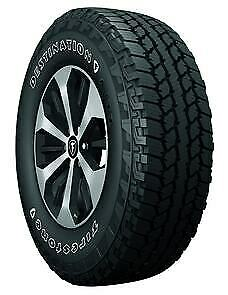 Firestone Destination A t2 P235 75r16 106s Owl 4 Tires