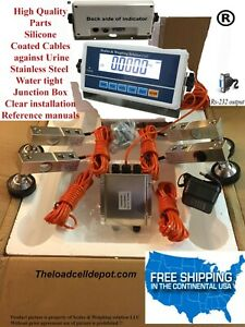 Livestock Scale Kit Cattle Hogs Sheep Goats Pigs Squeeze Chutes Pallet Scale 5k