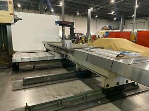 Lucas 40 T 1210 Cnc Table type Horizontal Boring Mill 1975