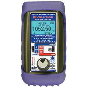 Pie 525b Automated Thermocouple Rtd Calibrator