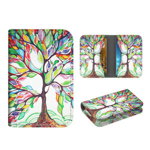 Business Card Holder Case Folio Credit Cards Id Card Wallet Organizer love Tree