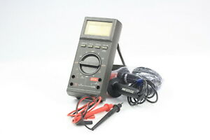 Jhon Fluke 27 fm Multimeter An psm 45a With Case 10