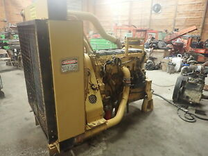 Caterpillar C15 Turbo Diesel Engine Power Unit 600 Hp Jre Industrial Cat